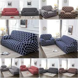 1 2 3 4 Seater Chair Sofa Cover Stretch Fitted Protector Cou