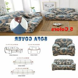 1/2/3/4 Seats Stretch For Sofa Cover Lounge Couch Removable