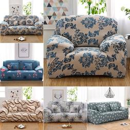 New 1/2/3/4 Seats Stretch Sofa Cover Lounge Couch Removable