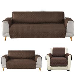 1/2/3 Seat Sofa Cover Couch Loveseat Slipcover Pet Dog Mat F