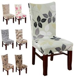 1/4/6pcs Removable Stretch Elastic Slipcovers Dining Room St