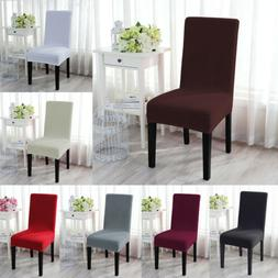 1/4/6Pcs Stretch Spandex Chair Seat Cover Protector Slipcove