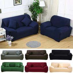 1-4 Seats Slipcover Sofa Covers Spandex Stretch Couch Cover