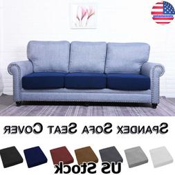 1-4 Seats Spandex Stretch Sofa Seat Cushion Cover Couch Slip