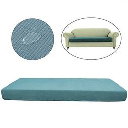 1-4 Seats Waterproof Stretchy Sofa Seat Cushion Cover Couch