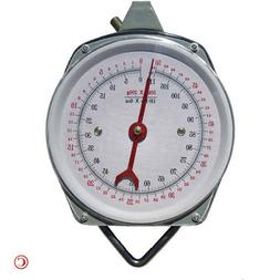 1 X 110 lb. Hanging Spring Kitchen Dial Scale by Pit Bull