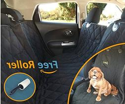 2-in-1 Dog BackSeat Cover Lucy's Pet Front Back Car Seat Cov