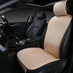 EDEALYN 1 Piece Breathable Ultra-Thin Ice Silk Non-Slip Car