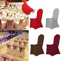 100Spandex Stretch Chair Covers Seat Cover for Wedding Party