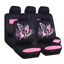CAR PASS 11PCS Insparation Butterfly Universal Fit Car Seat