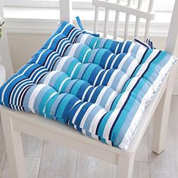 "15.7""*15.7"" Colorful Striped Chair Pads"