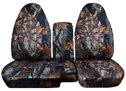 1998-2003 Ford Ranger/Mazda B-Series Camo Truck Seat Covers