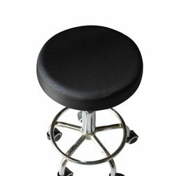 1pcs Elastic Bar Stool Covers Round Chair Seat Cover Cushion