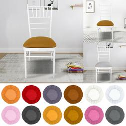 2/4pc Round Removable Stretch Slipcovers Thicken Home Dining