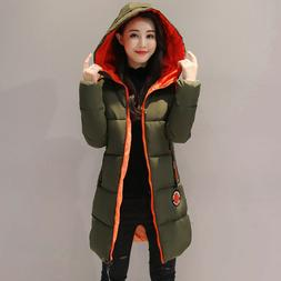 KUYOMENS 2017 New Jacket Women Winter Coat Womens Medium-Lon