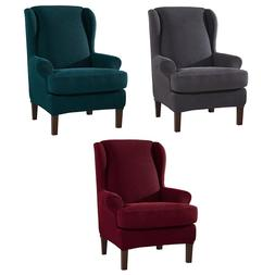 2PCS Spandex Fabric Stretch Chair <font><b>Cover</b></font>