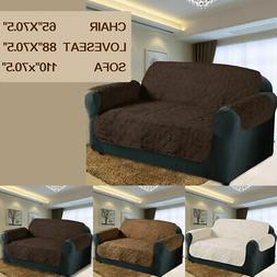 3 Colors 3 Size Quilted Sofa Chair Pet Dog Kids Furniture Pr