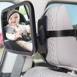 360 Degree Baby Kid Mirror Back Car Seat Cover for Rear Ward
