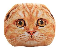 19inch 3D Cat Dog Stuffing Throw Pillow Stuffed Plush Toy Pl