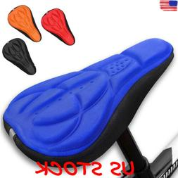 3D GEL Silicone Bike Bicycle Cycling Soft Comfort Saddle Cus