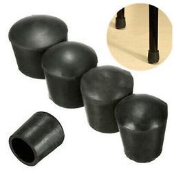 4 Pcs/Pack Chair Table Leg Rubber Feet Pads Caps Cover Prote