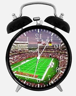 "49ers Stadium Alarm Desk Clock 3.75"" Room Office Decor E82 W"