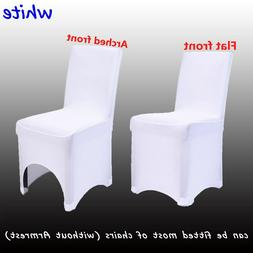 50/100PCS Spandex Lycra Chair Covers For Wedding Party Event