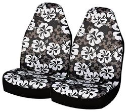 Allison 67-0346BLK Black Hawaiian Print Universal Bucket Sea