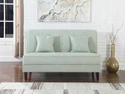 NHI Express 73023-62GN Button Tufted Loveseat Not Applicable