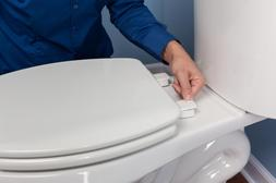 Mayfair NextStep Slow Close Toilet Seat with Built-in Remova