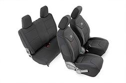 Rough Country 91005 Black Neoprene Seat Cover  for 07-10 Jee