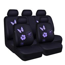 CAR PASS NEW ARRIVAL Flower And Butterfly Universal Car Seat