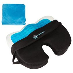 Comfort Cloud OPDX Coccyx Cushion Hybrid Gel, Breathable Mes