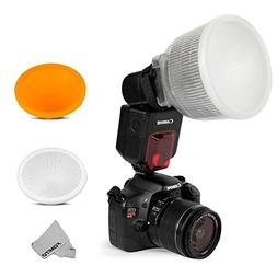 Fomito Universal Cloud Lambency Flash Diffuser + Cover White