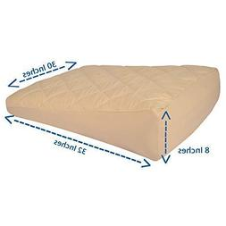 Inflatable Wedge Pillow Seat Cover