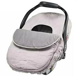 JJ Cole - Car Seat Cover, Weather Resistant Blanket-Style Ca