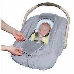 Jolly Jumper Arctic Sneak-A-Peek Infant CarSeat Cover With A