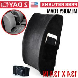 Lumbar Back Support Cushion Pillow for Car Office Chair Back
