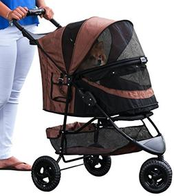 Pet Gear No-Zip Special Edition 3 Wheel Pet Stroller for Cat
