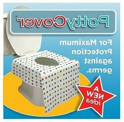 PottyCover Disposable Toilet Seat Covers