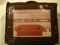 STRETCH FIT 3 Pcs Furniture Slipcover Set, Sofa / Couch + Lo