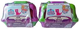 Set of 2: NEW! Kitty In My Pocket Carriers SERIES 3 - Purple