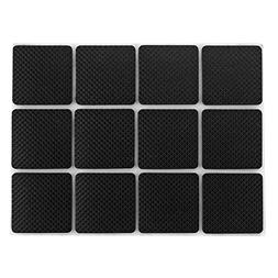 Shintop Self-Stick Rubber Anti-Skid Pad 48 Piece Value Pack
