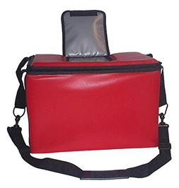 TCB Insulated Bags HWK-1D-Red Food and Beverage Carriers: Ha