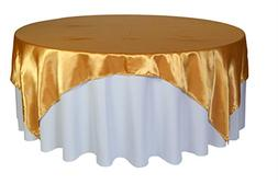 Your Chair Covers - 90 inches x 90 inches Square Satin Table