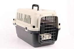 """Pet Kennel Direct 24"""" Airline Approved Plastic Dog / Cat Pet"""