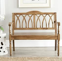 Safavieh American Homes Collection Benjamin Oak Bench