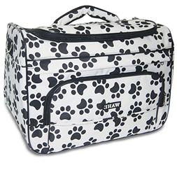 Wahl Professional Animal Paw Print Travel Tote Bag Black and