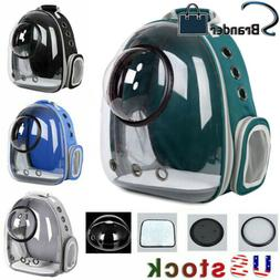 Astronaut Window Breathable Transparent Pet Carrier Dog Cat