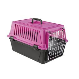Ferplast Atlas 10 Cat and Dog Carrier, Fuchsia Pink